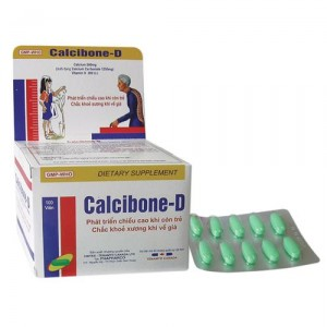Calcibone -D : Bổ sung canxi hàng ngày