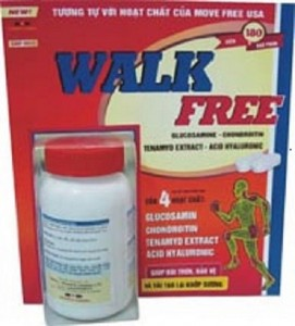 WALK-FREE ; Bảo vệ xương khớp