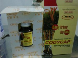 Codycap -Viên nang Đông trùng hạ thảo