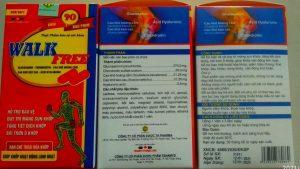 walkfree thực phẩm cho người viêm khớp, thoái hóa xương khớp