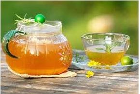 Mật ong trà xanh chữa ho