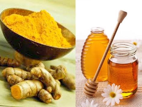 Mật ong nghệ chữa dạ dày hiệu quả